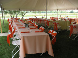 Rent Tents in Auburn IN, Kendallville, Waterloo, Butler, Ft. Wayne, Northeast Indiana