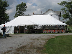 Canopy Rentals in Auburn IN, Kendallville, Waterloo, Butler, Ft. Wayne, Northeast Indiana