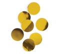 Rental store for GOLD METALLIC FOIL DOT CONFETTI in Auburn IN