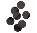 Rental store for BLACK METALLIC FOIL DOT CONFETTI in Auburn IN
