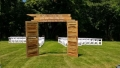 Rental store for WEDDING WOOD DOOR ARCH 6 Wx 8 H in Auburn IN