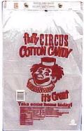 Where to rent 100pk Cotton Candy Bags in Auburn IN