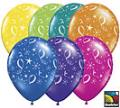 Rental store for Printed  Pearlized Ballon w o Helium in Auburn IN