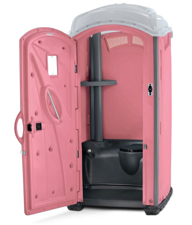 Where to find PORTABLE RESTROOM PINK in Auburn