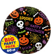 Where to rent 60ct. spooktacular halloween 7  plates in Northeast Indiana, Auburn IN, Kendallville IN, Waterloo IN, Butler IN, Ft. Wayne IN, Angola, Garrett, Fremont IN