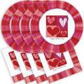 Where to rent 30ct Valentines Plate Napkin Set in Auburn IN