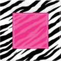 Where to rent 8ct 10  Square Plate Zebra Pink in Auburn IN