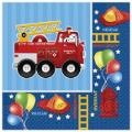 Where to rent 16ct Fire Truck Beverage Napkin in Auburn IN