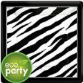 Where to rent 18ct 10.5  sq. Eco Zebra Blk Wht Plate in Auburn IN