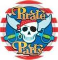 Where to rent 8ct 7  Pirate Party Plates in Auburn IN
