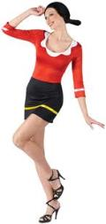 Where to rent Olive Oyl Costume in Auburn IN