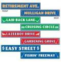 Where to rent 4 x24  Retirment Street Sign Cut Outs in Auburn IN