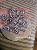 Where to rent 4  Silver Glitter Snowflake in Auburn IN