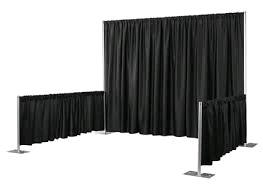 Where to find PIPE DRAPE, 16 x54  black Poly in Auburn
