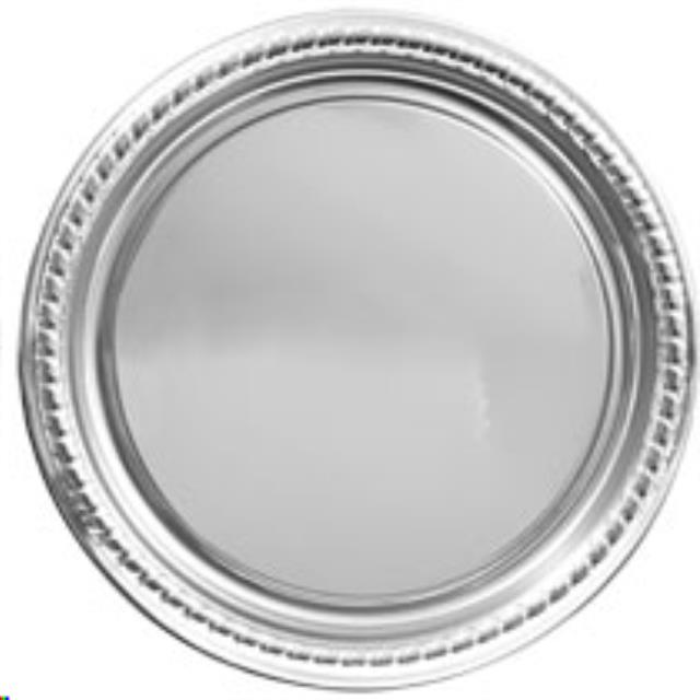 Where to find 16 rd Silver Plastic Tray in Auburn