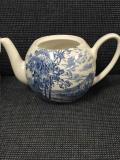 Where to rent SMALL BLUE VINTAGE TEA POT in Auburn IN