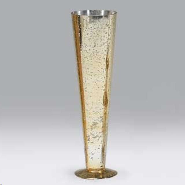 155 Inch Glass Silvergold Vase Rental Auburn In Rent 155 Inch